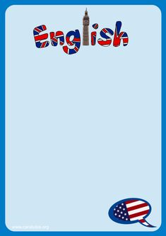 Teacher Binder Covers, Speak Fluent English, Fraction Activities, Alphabet Letters Design, Instagram Frame Template, School Frame, English Course, English Tips, English Classroom