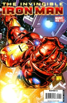 Iron man is a comic created by Stan Lee about a scientist named Tony Stark who sells and creates weapon. He faces a near death experience and then goes on to destroy his own weapons with his iron man suit
