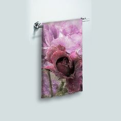 Small Face Cloth Face Towel Dusty Pink Rose by DesignerDiner  -- Beautiful products like this can be custom made for you by our members at http://DigiColorCreations.com.
