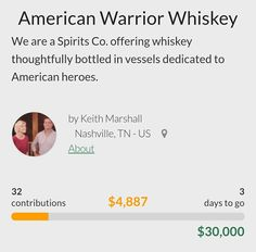 We Are A Spirits Co Offering Whiskey Thoughtfully Bottled In Vessels Dedicated To American Heroes