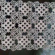 Bruges Lace Crochet doily for Art Au Crochet, Crochet Wool, Crochet Blocks, Crochet Squares, Crochet Patterns Filet, Crochet Bedspread Pattern, Crochet Tablecloth, Crochet Doilies, Bruges Lace