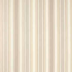 Laura Ashley Eaton Stripe Seaspray Wallpaper Awning Natural Cotton Linen Curtain Fabric
