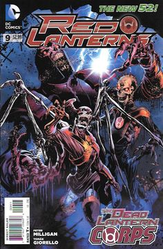Exodus _ Written By Peter Milligan , Art Tomas Giorello , Cover Art Miguel Angel Sepulveda , .No Red Lantern is safe! Atrocitus discovers a conspiracy behind the awakening of the terror that is Abysmu