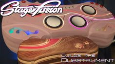StageFusion puts artistry and community into the invention of an open-source MIDI instrument for live electronic dance music. (EDM)