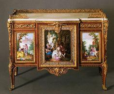 LE commode de MADAME DU BARRY :Attributed to Martin Carlin, 1772 [Musee du Louvre, Paris]