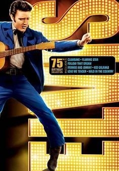 Music and movies make perfect bedfellows in this collection of seven feature films starring the King of Rock and Roll. Includes LOVE ME TENDER, Flaming Star, WILD IN THE COUNTRY, CLAMBAKE, FRANKIE AND