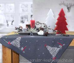 Weihnachtstischdecken