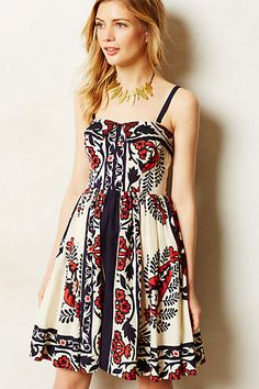 Sweetwater Dress by Yoana Baraschi Red Motif from Anthropologie. Shop more products from Anthropologie on Wanelo. Pretty Outfits, Pretty Dresses, Beautiful Dresses, Cute Outfits, Emo Outfits, Dress Outfits, Casual Dresses, Fashion Dresses, Fashion Clothes