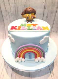Hey Duggee style 1st birthday cake Birthday Cake Girls, First Birthday Parties, 4th Birthday, First Birthdays, Birthday Ideas, Cakes For Boys, Girl Cakes, Party Cakes, How To Make Cake