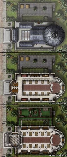 [Battlemap] [Library] The Archivist'… [Battlemap] [Library] The Archivist's Sanctum – A Three level Library Battlemap! Fantasy Map, Fantasy World, Dnd World Map, Pathfinder Maps, Call Of Cthulhu Rpg, Building Map, Rpg Map, Dungeons And Dragons Homebrew, Dungeon Maps