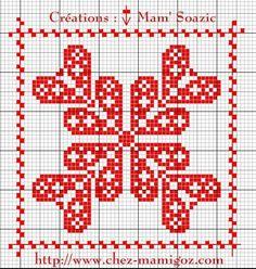 Biscornu Cross Stitch, Cross Stitch Needles, Cross Stitch Heart, Cross Stitch Embroidery, Hand Embroidery, Monks Cloth, Little Stitch, Sewing Art, Christmas Cross