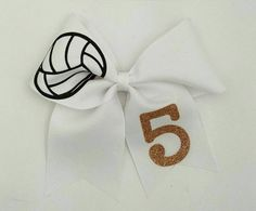 Volleyball bow. Customizable