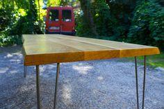 CUSTOM DINING TABLE MidCentury Modern Large by HardmanDesignBuild