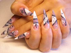 Every girl want to look attractive so nail art designs is one of your beauty part. So we share some collection of beautiful nail art designs for girls. Nail Art Designs 2016, Fancy Nails Designs, Nail Art Design Gallery, Popular Nail Designs, Popular Nail Art, Long Nail Designs, Simple Nail Designs, Beautiful Nail Designs, Beautiful Nail Art