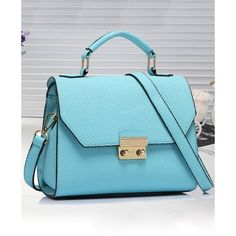 Relaxfeel Women's Fashion Dermis Small Shoulder Bag Blue ($33) ❤ liked on Polyvore featuring bags, handbags, shoulder bags, light blue, shoulder hand bags, light blue shoulder bag, shoulder bag purse, blue shoulder bag and light blue handbag