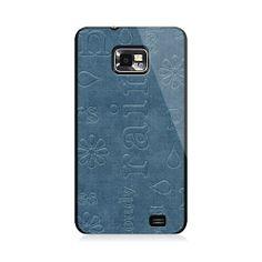 Rain Words Samsung Galaxy S2 Case