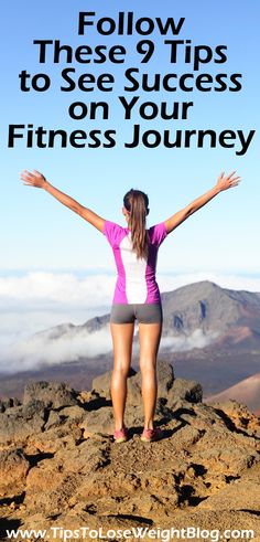 Want to make sure you really lose weight? Follow These 9 Tips to See Success on Your Fitness Journey http://www.tipstoloseweightblog.com/fitness/follow-these-9-tips-to-see-success-on-your-fitness-journey @loseweightblog