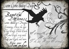 Gothic Wedding Invitations - The Wedding Specialists