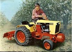 ISO Case lawn tractor
