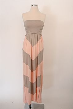 Kissed By The Sun Maxi Dress - Taupe
