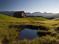 Photographic Print: Late Summer in the Grisons Mountains by Armin Mathis : 24x18in