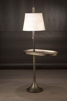 Carol floor lamp and accent table, Bellavista Collection