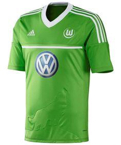 Wolfsburg adidas 2012-13 Home