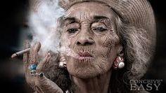 Aging Backwards: Reverse the Aging Process and Look 10 Years Younger in 30 Minutes a Day Chicks Be Like, Aging Backwards, Smoking Causes, Life Questions, Portraits, Old Age, Women Smoking, Aging Process, Life Magazine