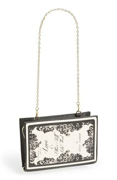 Betsey Johnson 'Book' Convertible Clutch available at #Nordstrom