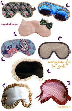 маска для сна / Шитье