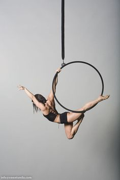 Lyra, hoop, circus, fitness, strength, flexibility, muscle, fun!