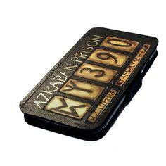 Azkaban Prisoner Board - Printed Faux Leather Flip Phone Cover Case Potter Style