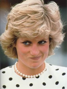 Diana- I love her smirks! this is very cute photo of dear Princess Di