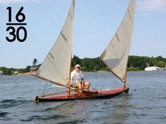 Hot Easy to Build Sailing Dinghy for Teens