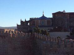Muralhas e Catedral de Ávila