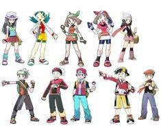 Pokemon Trainers Photo by silver445 | Photobucket