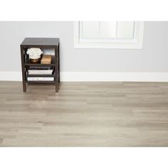 Heatherwood Rigid Core Vinyl Plank - Foam Back - - 100487172 Luxury Vinyl Flooring, Luxury Vinyl Tile, Luxury Vinyl Plank, Waterproof Laminate Flooring, Wood Laminate, Vinyl Tiles, Flooring Options, Floor Decor, Luxury Homes