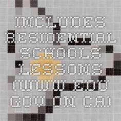 Includes Residential Schools lessons (www.edu.gov.on.ca) Residential Schools, School Lessons, Coding, Sugar, Programming
