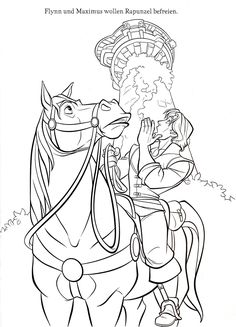 tangled coloring pages printable activities