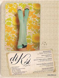 """una parte del catalogo de la primera colección de la marca diKsi, """"di que si """" a la vida, al estilo, a ser diferente, a seguir siempre adelante."""