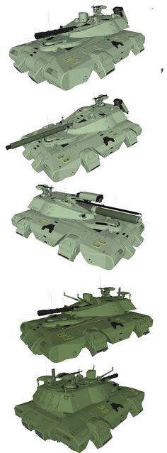 Heavy Gears Hetaroi by flaketom.deviantart.com on @DeviantArt