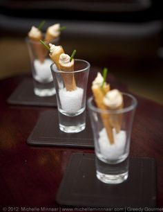 Learn how to make Smoked Salmon Amuse-Bouche and plenty of other things at Baumanns Cooking Academy.