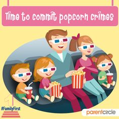 Nothing can take the place of spending time watching a fun movie with your family. Haven't done it in a while? Then you definitely must. It will surely be worth it.   Why family is forever - https://www.parentcircle.com/clip-book/4a4237038e/celebrating-togetherness/.  Joy is in being together this festive season.#familyfirst #togetherness