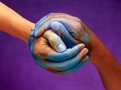 WOW... look close... hands healing our world