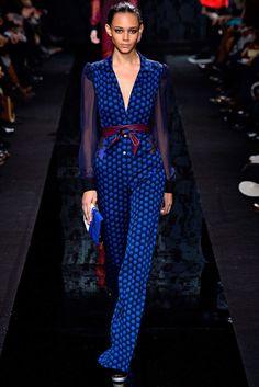 Diane von Furstenberg Fall 2015 Ready-to-Wear Fashion Show - Kendall Jenner