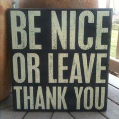 My new favorite saying!!!