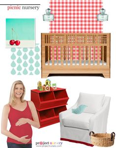 Design Board: Picnic-Inspired Nursery