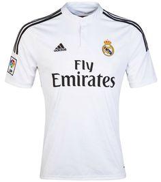4266e127d01 Adidas Real Madrid Home Jersey 2014 FIFA World Champions Football Soccer  Shirt