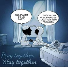 SubhanAllah #husband #wife #marriage #muslim #islam #piouscouple #love #muslimah #quotes #islamicQuotes #Allah