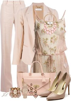 """""""Pastels"""" by jenalind ❤ liked on Polyvore"""
